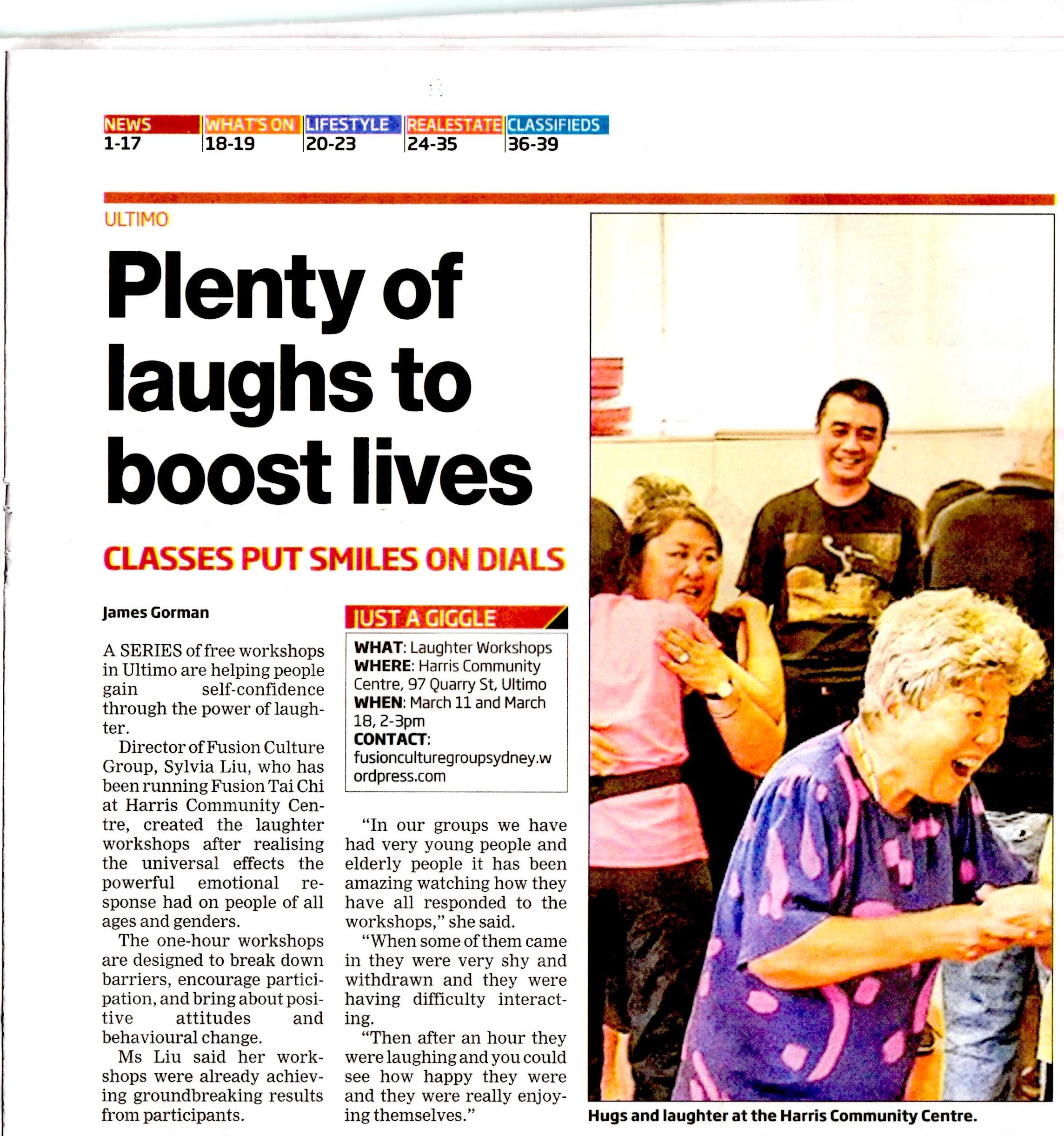 Central Sydney News - 4 Mar 2015
